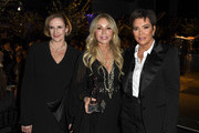 (L-R) Colleen Neary, Anastasia Soare and Kris Jenner pose at the Los Angeles Ballet Gala 2020 at The Broad Stage on February 28, 2020 in Santa Monica, California.