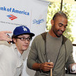 Adam Clark Los Angeles Dodger Matt Kemp Makes Surprise Visits To Bank Of America Banking Centers In Los Angeles