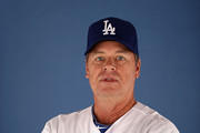 Pitching coach Rick Honeycutt #40 of the Los Angeles Dodgers poses for a portrait during spring training photo day at Camelback Ranch on February 17, 2013 in Glendale, Arizona.