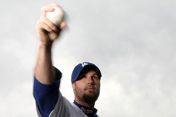 Eric Gagne Los Angeles Dodgers Photo Day