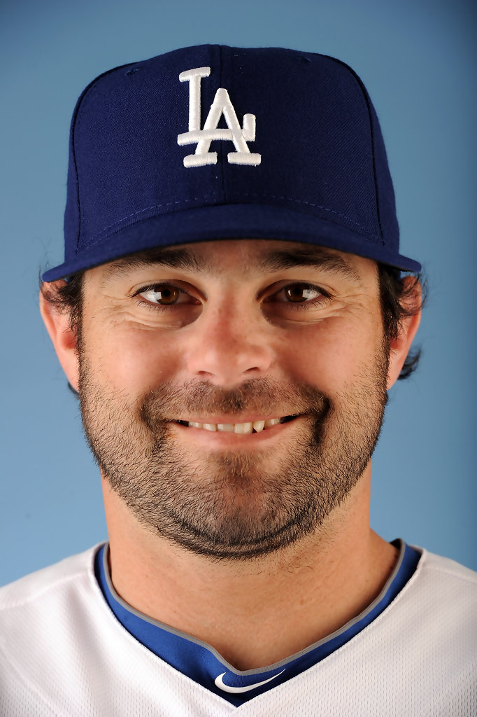 Aaron Miles Photos Photos Los Angeles Dodgers Photo Day