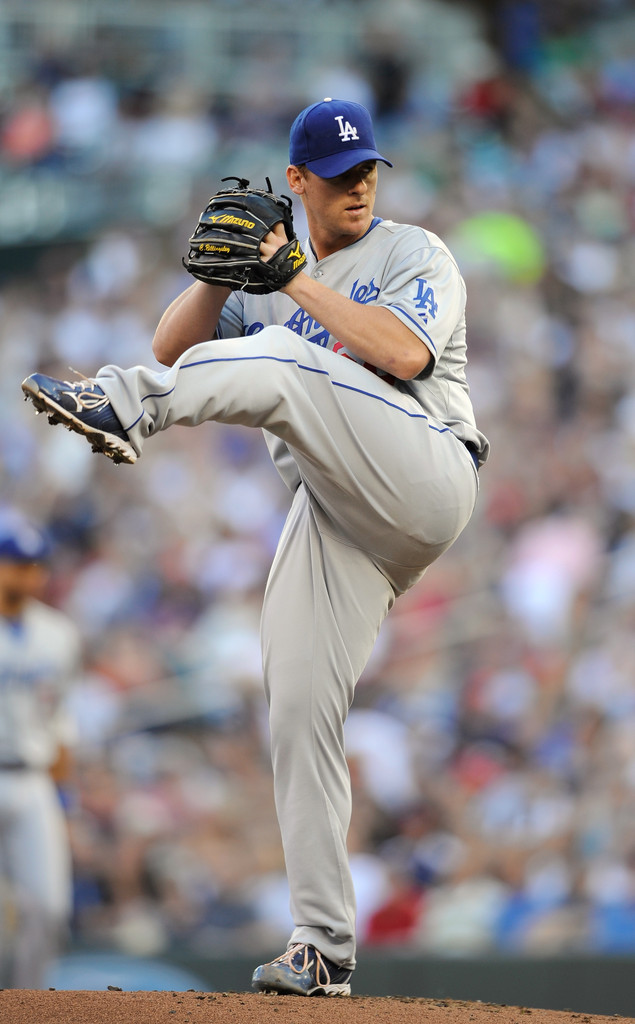 Chad Billingsley Photos Photos Los Angeles Dodgers V
