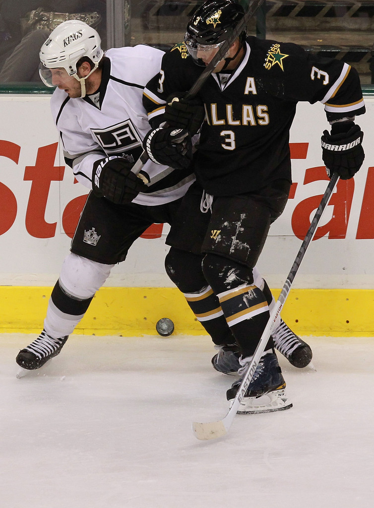 Mike Richards In Los Angeles Kings V Dallas Stars Zimbio