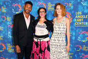 (L-R) Actor Jeffrey Bowyer-Chapman, writer Sarah Gertrude Shapiro and actress Breeda Wool attend the Los Angeles LGBT Center 47th Anniversary Gala Vanguard Awards at Pacific Design Center on September 24, 2016 in West Hollywood, California.