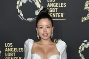 """Cierra Ramirez attends Los Angeles LGBT Center Celebrates 50th Anniversary With """"Hearts Of Gold"""" Concert & Multimedia Extravaganza at The Greek Theatre on September 21, 2019 in Los Angeles, California."""