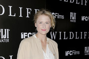 Mamie Gummer attends the Los Angeles premiere for IFC Films 'Wildlife' at ArcLight Hollywood on October 9, 2018 in Hollywood, California.
