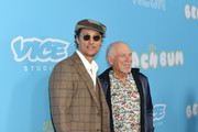 """Matthew McConaughey and Jimmy Buffett attend the premiere of Neon and Vice Studio's """"The Beach Bum"""" at ArcLight Hollywood on March 28, 2019 in Hollywood, California."""