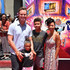 "Angel Parker Photos - Eric Nenninger, Naomi Nenninger, James Nenninger and Angel Parker attend the premiere of Warner Bros. Animation's ""Teen Titans Go! To The Movies"" at TCL Chinese Theatre IMAX on July 22, 2018 in Hollywood, California. - Los Angeles Premiere Of Warner Bros. Animations' 'Teen Titans Go! To The Movies' - Arrivals"
