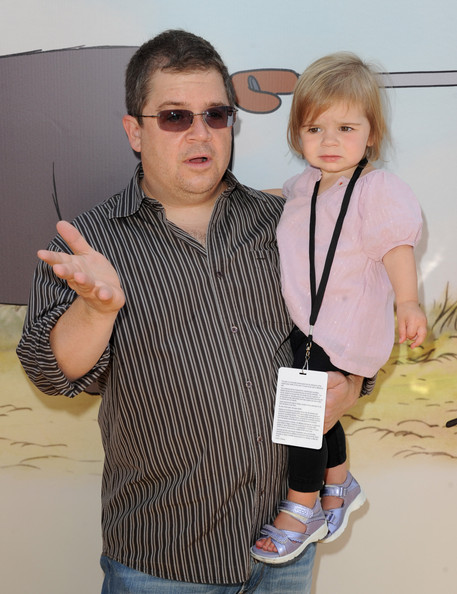 Photo of Patton Oswalt & his  Daughter  Alice Rigney Oswalt