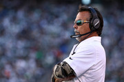 Head coach Jeff Fisher of the Los Angeles Rams looks on in the second quarter against the New York Jets at MetLife Stadium on November 13, 2016 in East Rutherford, New Jersey.