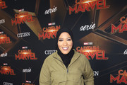 """Ibtihaj Muhammad attends the Los Angeles World Premiere of Marvel Studios' """"Captain Marvel"""" at Dolby Theatre on March 4, 2019 in Hollywood, California."""