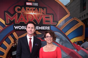 "(L-R) Directors/writers Ryan Fleck and Anna Boden attend the Los Angeles World Premiere of Marvel Studios' ""Captain Marvel"" at Dolby Theatre on March 4, 2019 in Hollywood, California."