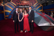 "Directors/writers Ryan Fleck (L), Anna Boden (2nd R), and guests attend the Los Angeles World Premiere of Marvel Studios' ""Captain Marvel"" at Dolby Theatre on March 4, 2019 in Hollywood, California."