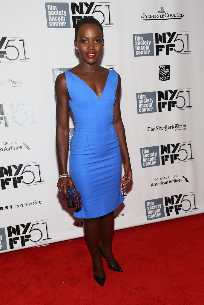 "Actress Lupita Nyong&squot;o attends the ""12 Years A Slave"" premiere during the 51st New York Film Festival at Alice Tully Hall at Lincoln Center on October 8, 2013 in New York City."