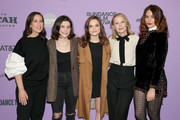 """Miriam Shor, Molly Brown, Oona Laurence, Amy Ryan, and Lola Kirke attend the Netflix """"Lost Girls"""" Premiere at Eccles Center Theatre on January 28, 2020 in Park City, Utah."""