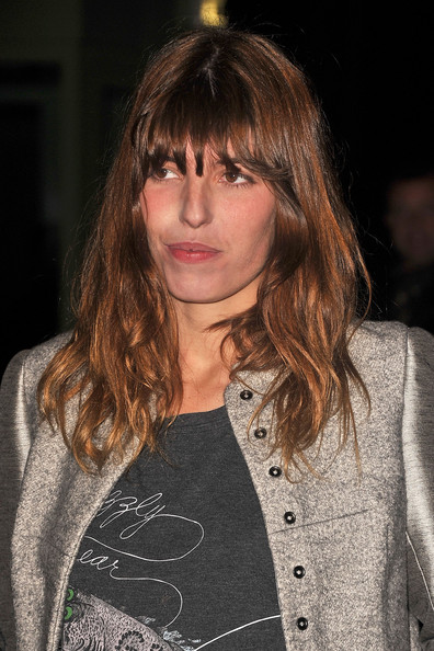 Lou Doillon - Etam Fashion Show - Arrivals -S/S 2011 Collection Launch At Le Grand Palais