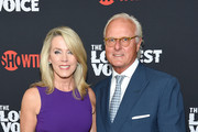 """Deborah Norville and Karl Wellner attend """"The Loudest Voice"""" New York Premiere at Paris Theatre on June 24, 2019 in New York City."""
