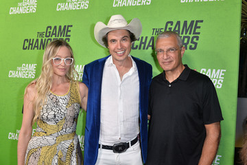 Louie Psihoyos L.A. Premiere Of 'The Game Changers' - Red Carpet