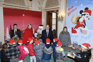 Louis Ducruet Christmas Gifts Distribution at Monaco Palace in Monte-Carlo