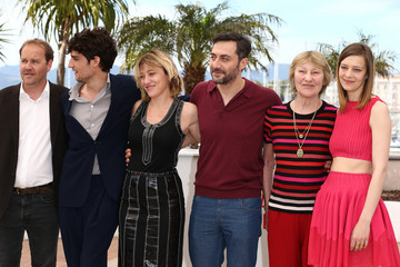 Louis Garrel Valeria Bruni-Tedeschi 'Un Chateau En Italie' Photo Call in Cannes