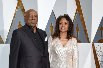 Louis Gossett Jr. Candy Brown 88th Annual Academy Awards - Red Carpet Pictures