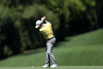 Louis Oosthuizen The Masters - Round Two