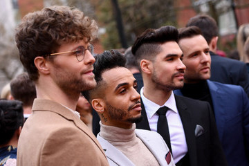 Louis Smith The Olivier Awards With Mastercard - VIP Arrivals