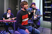Singer Louis Tomlinson performs live on SiriusXM Hits 1 At The SiriusXM Studios In New York City at SiriusXM Studios on October 24, 2019 in New York City.