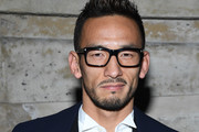 Hidetoshi Nakata attends the Louis Vuitton show as part of the Paris Fashion Week Womenswear Fall/Winter 2018/2019 on March 6, 2018 in Paris, France.