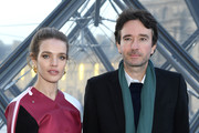 Natalia Vodianova and Antoine Arnault attend the Louis Vuitton show as part of the Paris Fashion Week Womenswear Fall/Winter 2019/2020  on March 05, 2019 in Paris, France.