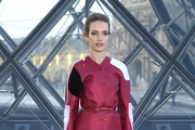 Natalia Vodianova attends the Louis Vuitton show as part of the Paris Fashion Week Womenswear Fall/Winter 2019/2020  on March 05, 2019 in Paris, France.