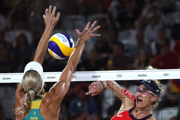 Louise Bawden Beach Volleyball - Olympics: Day 9