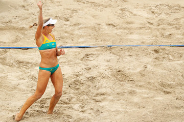 Louise Bawden Beach Volleyball - Olympics: Day 5