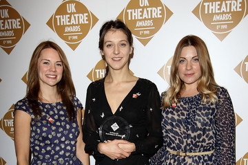 Louise Dearman Arrivals at The Theatre Awards