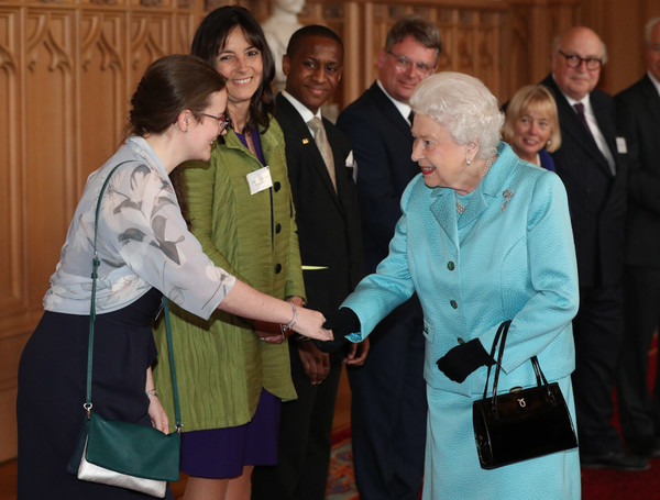 The Queen Hosts A Reception To Mark The 100th Anniversary Of The National Council For Voluntary Organizations