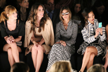 Louise Roe Jamie Chung TRESemme at Rebecca Minkoff Mercedes-Benz Fashion Week Spring 2014 - Backstage and Front Row