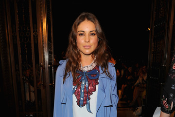 Louise Thompson Front Row & Arrivals - Day 1 - LFW September 2016
