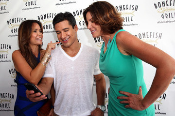 LuAnn de Lesseps Bonefish Grill Launches New Menu With Celebrity Host Mario Lopez At Private Dockside Party And Cruise in Miami