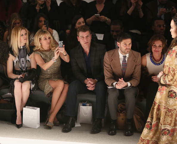 Zang Toi - Front Row - Fall 2013 Mercedes-Benz Fashion Week