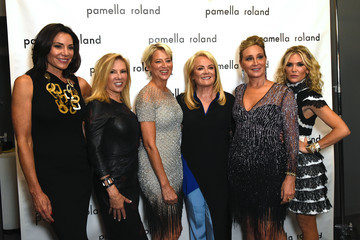 LuAnn de Lesseps Pamella Roland - Backstage - September 2019 - New York Fashion Wee