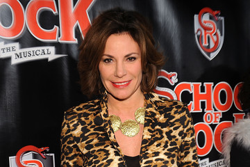 LuAnn de Lesseps 'School of Rock' Broadway Opening Night - Arrivals and Curtain Call