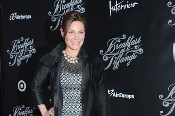 LuAnn de Lesseps Arrivals at 'Breakfast at Tiffany's' Opening Night