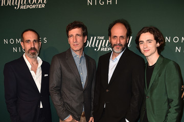 Luca Guadagnino Timothee Chalamet The Hollywood Reporter 6th Annual Nominees Night - Arrivals