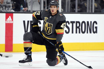 Luca Sbisa Boston Bruins v Vegas Golden Knights