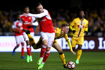 Lucas Sutton United v Arsenal - The Emirates FA Cup Fifth Round