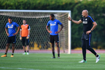 Luciano Spalletti ICC Singapore Training Session