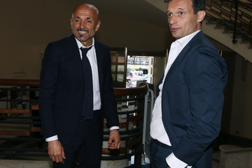 Luciano Spalletti FIGC Meeting At Italian Olympic Committee