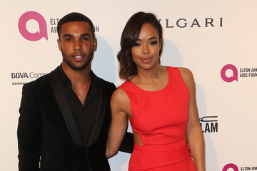 Lucien Laviscount Celebrities Attend an Oscar Viewing Party