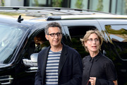 Actor John Turturro (L) and wife Katherine Borowitz arrive at the 'Lucky Them' premiere during the 2013 Toronto International Film Festival at Isabel Bader Theatre on September 6, 2013 in Toronto, Canada.