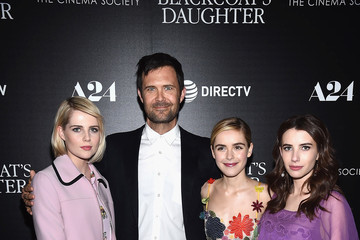 Lucy Boynton A24 and DirecTV With the Cinema Society Host a Screening of 'The Blackcoat's Daughter' - Arrivals